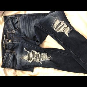 American Eagle Ripped Washed Out Jeans